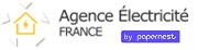 EDF, GDF, ERDF, GRDF, Agence EDF, Boutique EDF Logo agence-electricite-france.fr